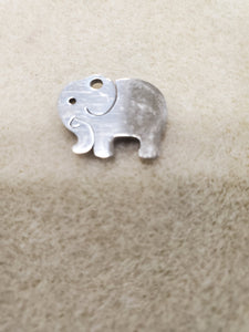 304 Stainless Steel Elephant Charm