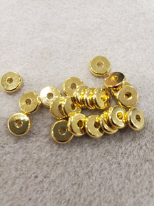 Brass Disc Spacer