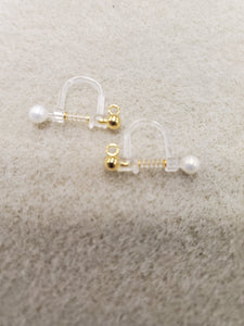 316 STAINLESS EARRING SPRING-ON