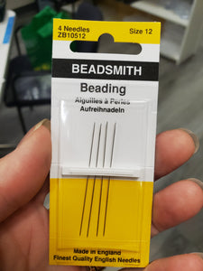 BEADING NEEDLES #12 LONG