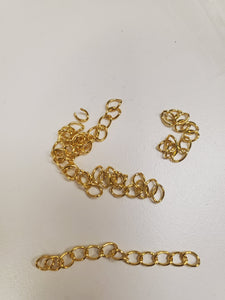 IRON CHAIN EXTENDER GOLD