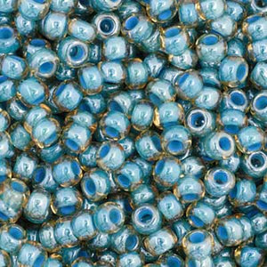 Czech Seed Bead Colorlined 11/0