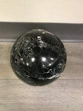 Load image into Gallery viewer, MIDNIGHT MARBLE SPHERE