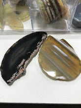 Load image into Gallery viewer, AGATE SLICE DRILLED