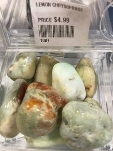 LEMON CHRYSOPRASE