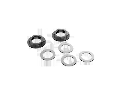 Favero Electronics bePro Set hex nuts M16 and 4 washers for crank arm - Brakeaway