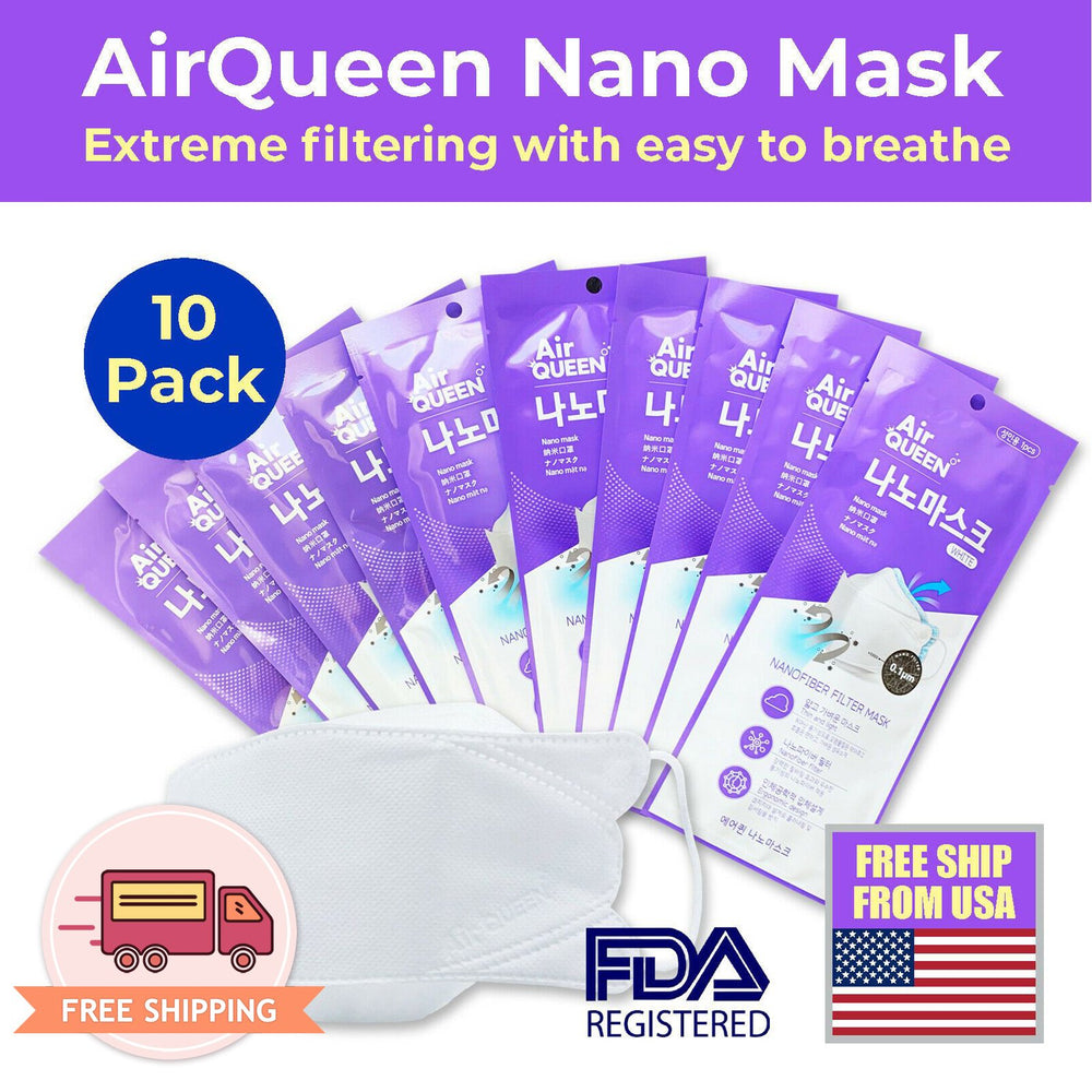Air Queen Nano Fiber Mask from Korea FDA Approved - EverydaySpecial