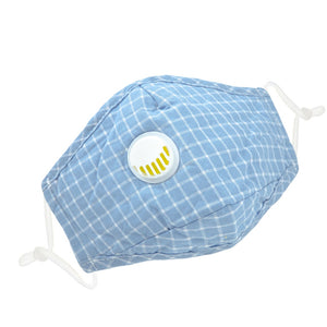 Load image into Gallery viewer, Reusable 6 Colors Checkered Two Layers Cotton 3D Mask 3 pcs - everydayspecial