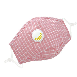 Reusable 6 Colors Checkered Two Layers Cotton 3D Mask 3 pcs - everydayspecial