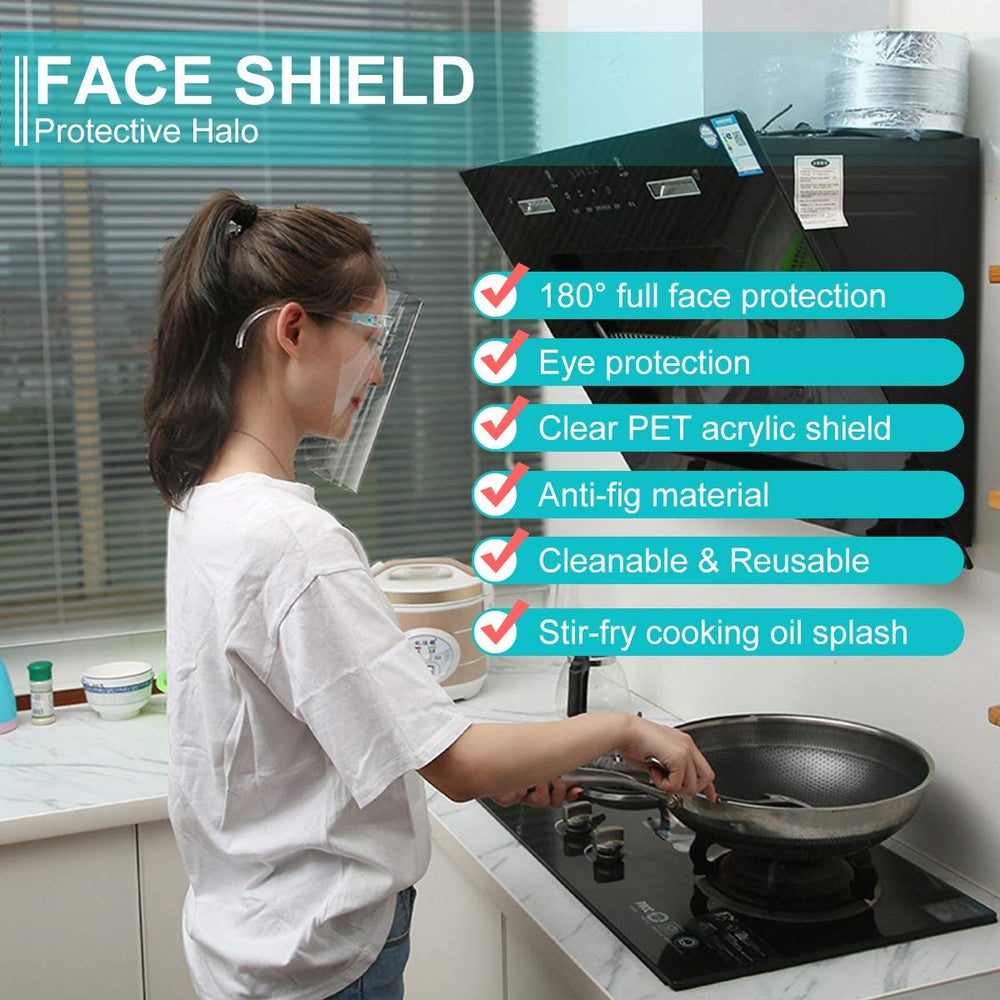 everydayspecial.com | Reusable Full Protective Face Shield Visor 12 pcs