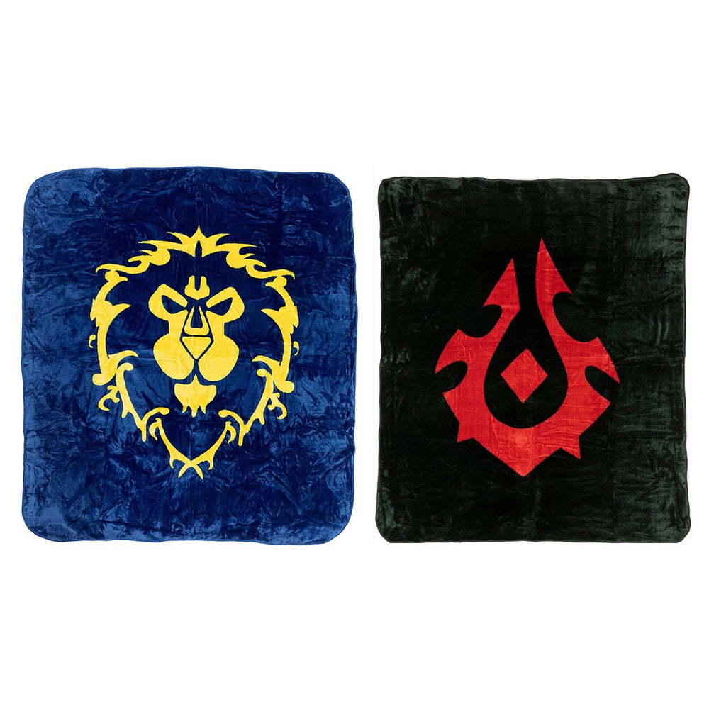Luxury Plush Mink Throw Blanket | World of Warcraft (TWIN/QUEEN)