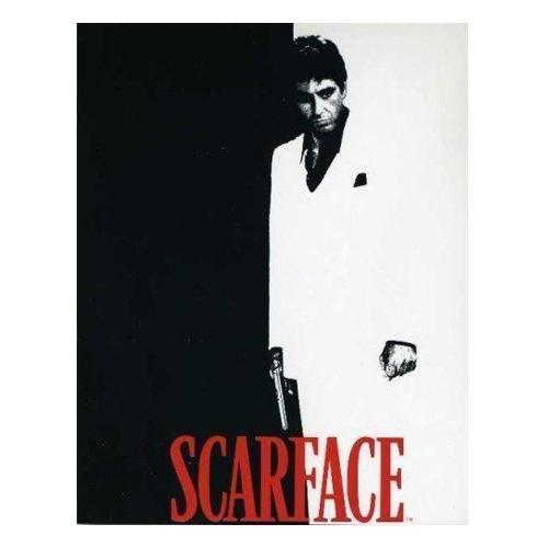 "Scarface Luxury Micro Plush ThrowBlanket, Tony Montana, 60""X87""(TWIN)"