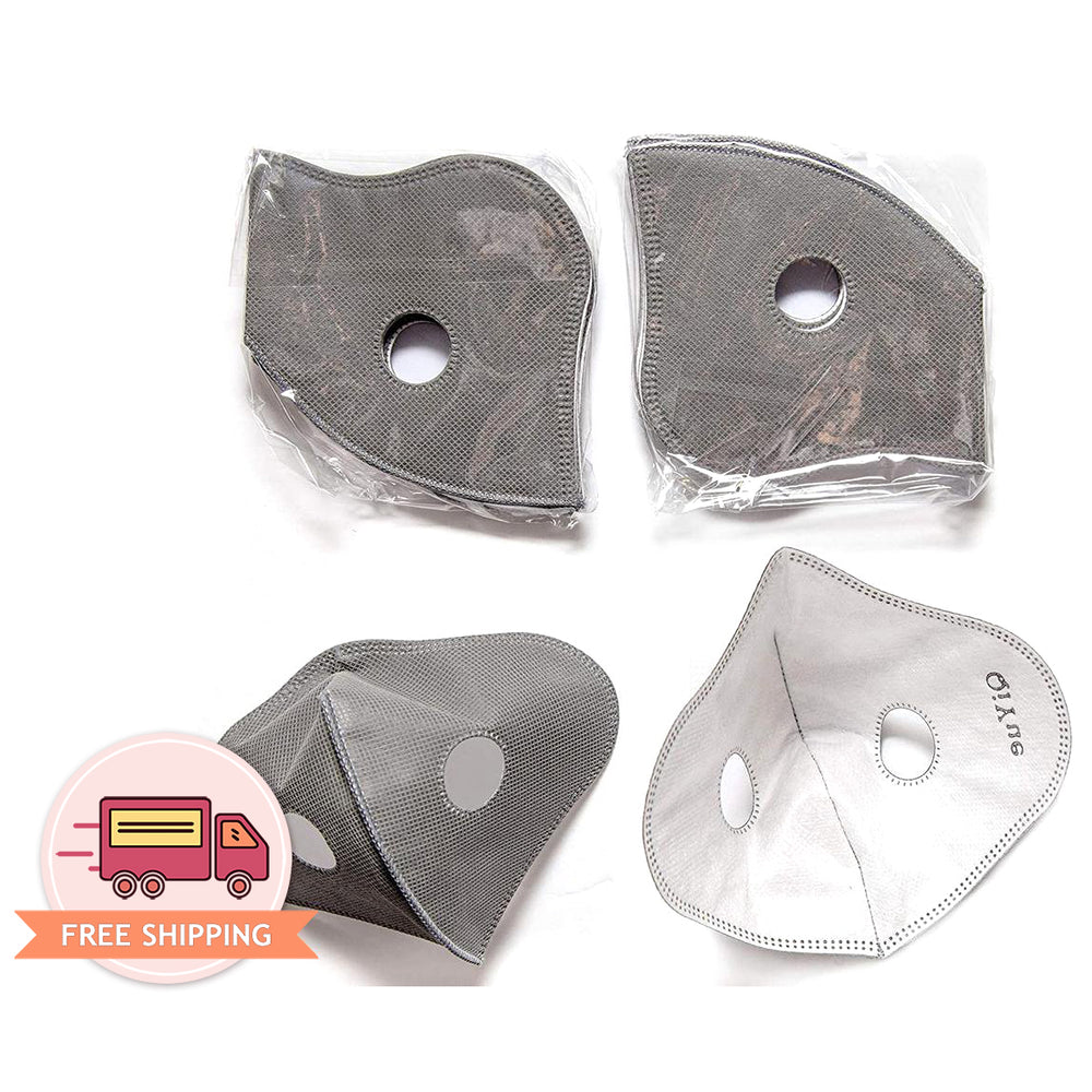Replaceable Carbon Filter 5 Layer for Adult Sports Face Mask