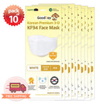 [Youth] Good Day Korean Premium KF94 White Mask 10 pcs