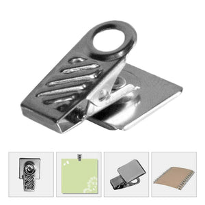 Load image into Gallery viewer, Stick-A-Clip Metal Paper Holder (24-Piece) - EverydaySpecial