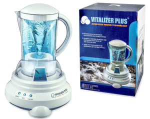 [Vitalizer Plus] Hexagonal Oxygen Water Maker With 1 Mineral Cube-Alkaline Ionizer - EverydaySpecial