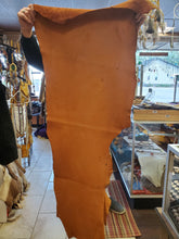 Load image into Gallery viewer, Bison Hide 7oz 12 SQ FT Cognac Color