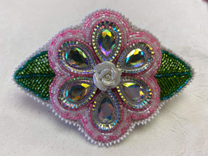 Beaded Flower Barrett