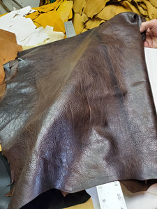 Dark Brown #1 Goat Skins