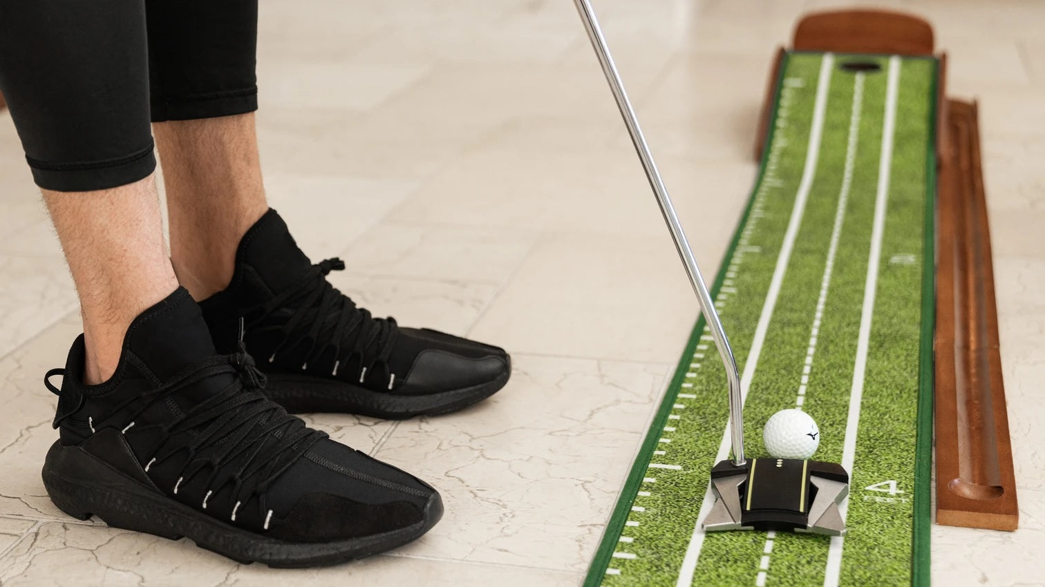 Perfect Practice Perfect Putting Mat™ - Compact Edition