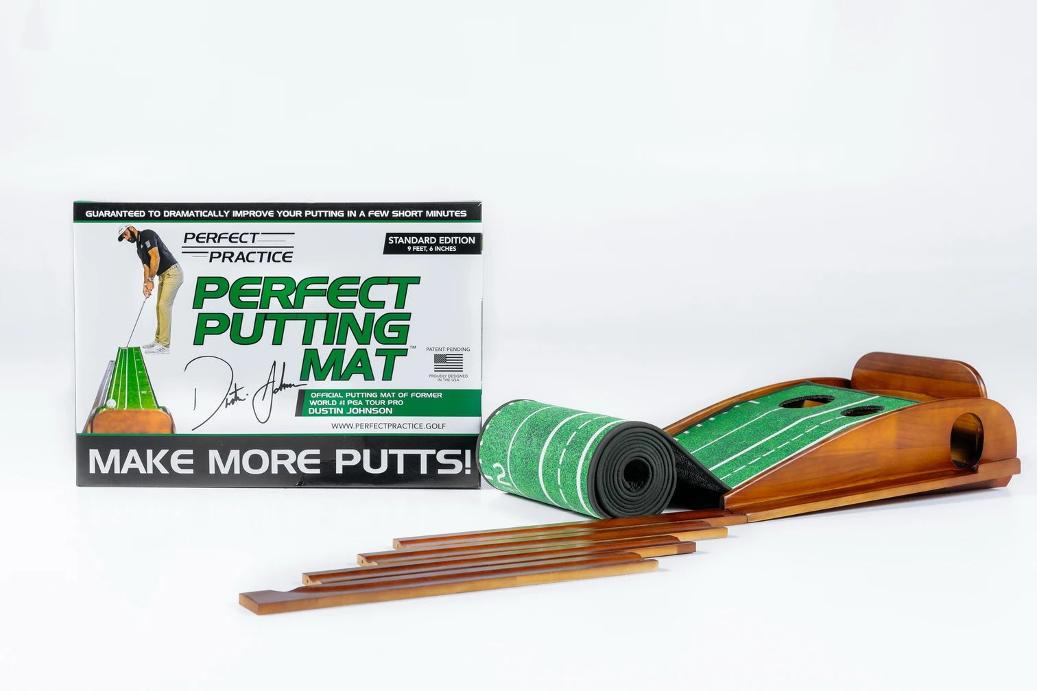 Perfect Practice Perfect Putting Mat™ - Standard Edition