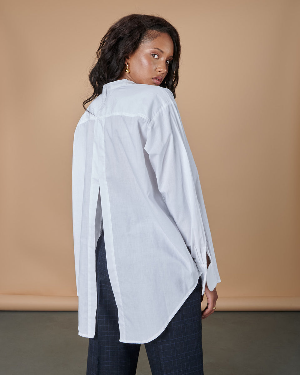 Munay Open Back Shirt