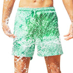 Color Changing Swim Shorts for Boys 12 15 Bathing Suit 2020 Quick Dry Beach Swimming Trunks Water Hot Discoloration Board Shorts