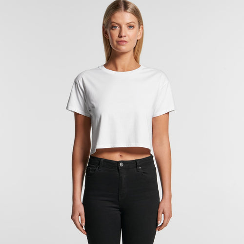 AS COLOUR CROP WOMANS TEE