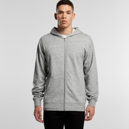 AS COLOUR FLECK ZIP HOODIE