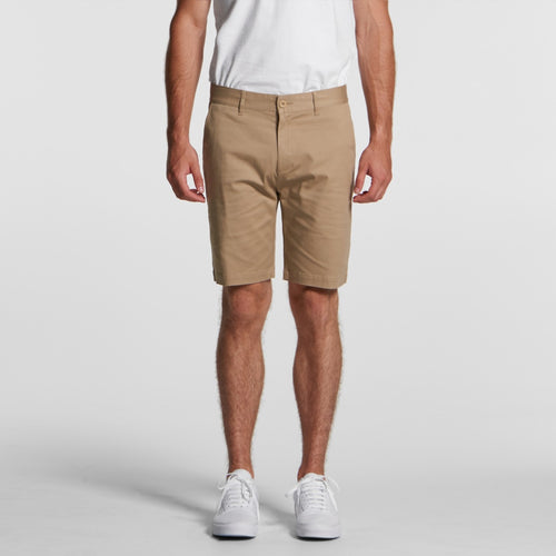 AS COLOUR MENS PLAIN SHORTS
