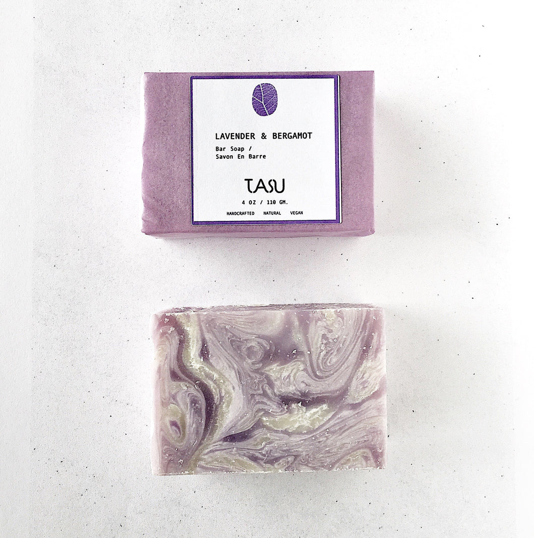 Lavender Bergamot Soap Bar