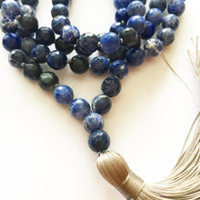 Load image into Gallery viewer, Natural Soladite Tassel Mala