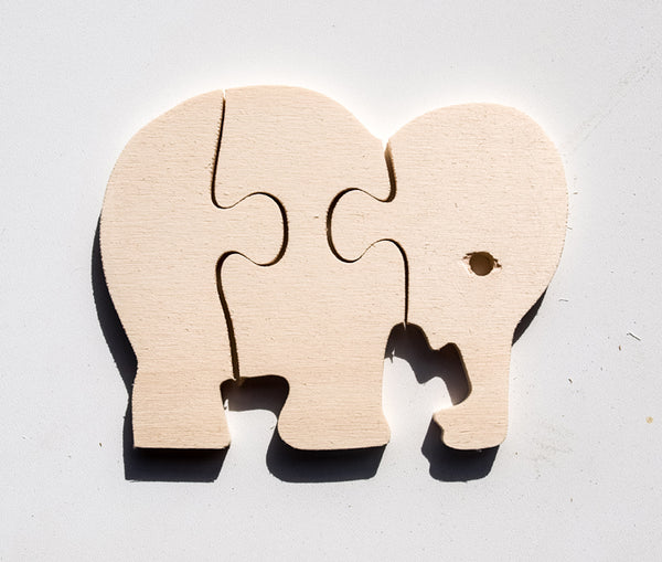 Wooden Wild Animals