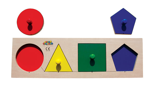 Geo Shapes Sorting Board  - JJ392