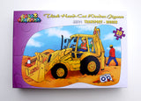Shaped Floor Puzzle Digger - JJ571