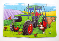 Shaped Floor Puzzle Tractor - JJ574