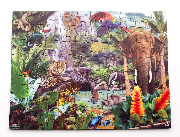 Rain Forest 24 or 80 pieces - JJ672