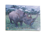 Endangered Animals - Black Rhino - JJ741