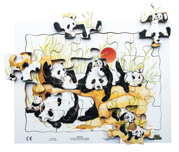 20pc Tray - Pandas - JJ812