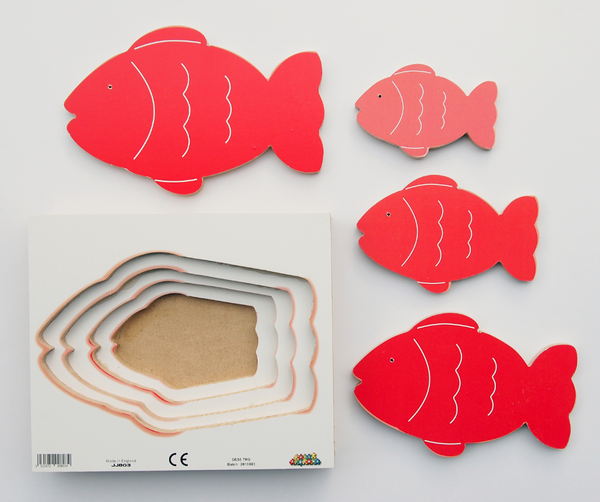 Fish - 4 Layered Tray - JJ803