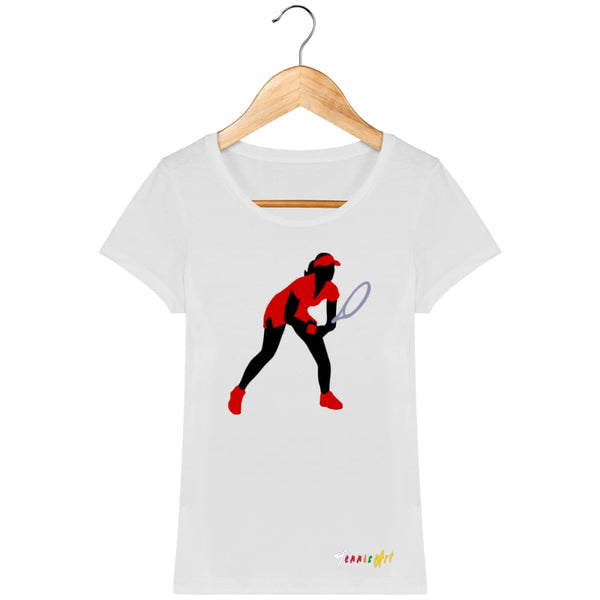 T-Shirt Femme Bio ''Position d'Attention'' - TennisArt