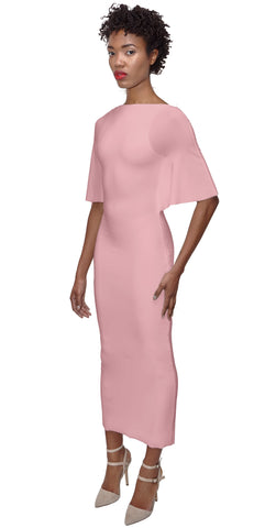 NORIKO Midi Dress -dusty rose-