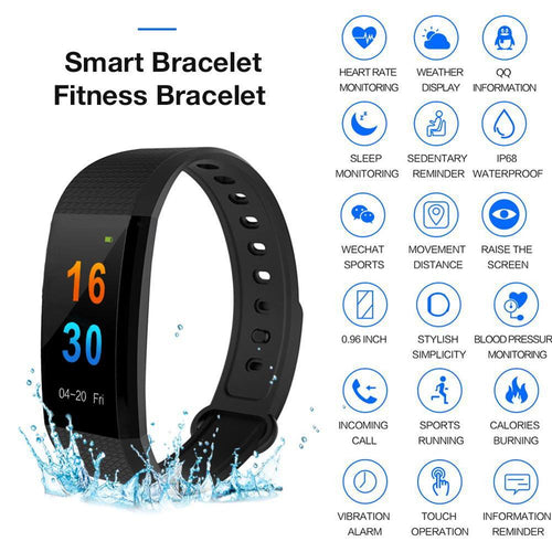 letscom walk tracker health digital treadmill reloj pulsera - florentclothing store
