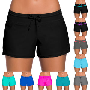 European And American-Style Summer Swim Shorts Women's Sexy - florentclothing store