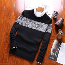 Load image into Gallery viewer, Luulla Men Autumn Spring New Casual Knitted Cotton Pattern Sweaters Pullover Men - florentclothing store