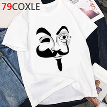Load image into Gallery viewer, La Casa De Papel T Shirt Men Funny Cartoon Money Heist Tshirt House of Paper Kawaii - florentclothing store