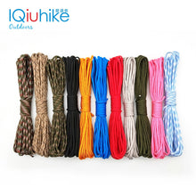 Load image into Gallery viewer, IQiuhike 5 Meters Dia.4mm 7 stand Cores Paracord for Survival Parachute Cord Lanyard - florentclothing store