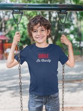 Load image into Gallery viewer, Boys Smile Graphic T-Shirt-Peace & Products