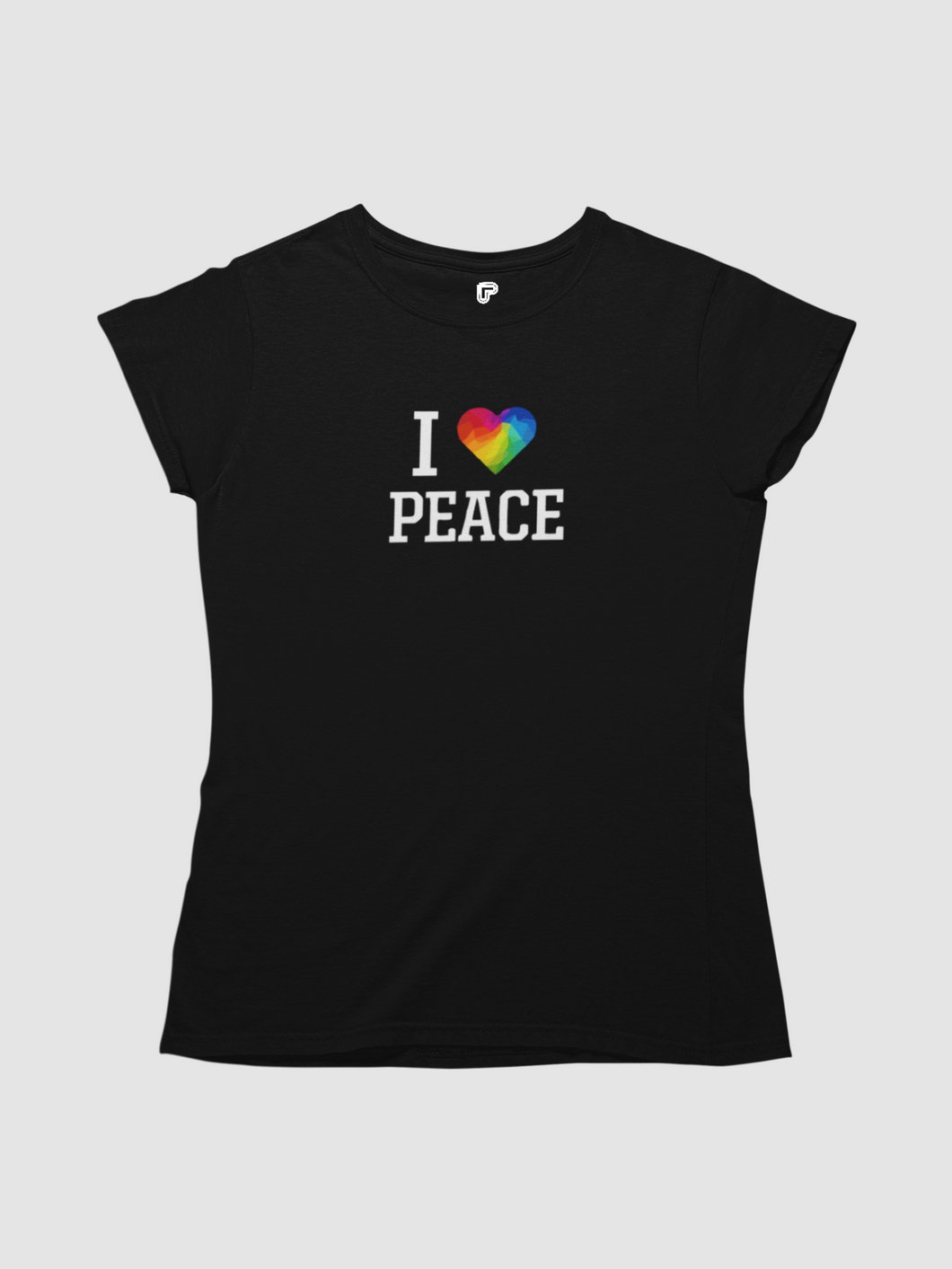 Women Signature Graphic T-shirt-Peace & Products
