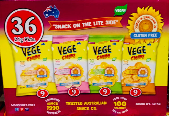 VEGE Chips Assorted box